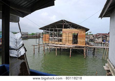 Fishing port of Natuna