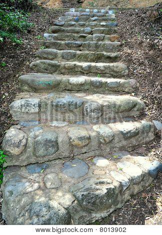 Die Steintreppe
