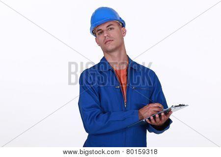 A cocky surveyor