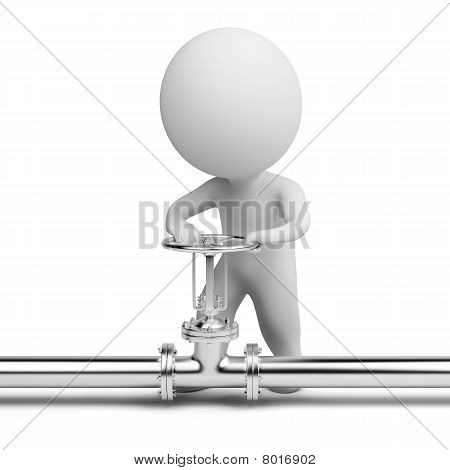 3D Small People - Latch