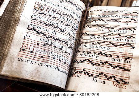 Old Church Hymnal-book