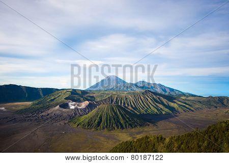 Mount Bromo In Java, Indonesia
