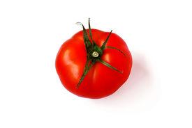 A Tomato, Isolated On White