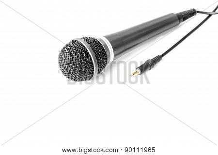 Microphone Isolated On White Background