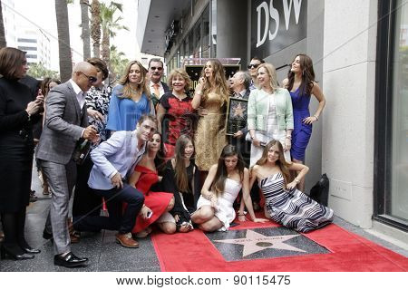 LOS ANGELES - MAY 7:  Sofia Vergara at the Sofia Vergara Hollywood Walk of Fame Ceremony at the Hollywood Blvd on May 7, 2015 in Los Angeles, CA