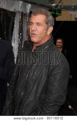 LOS ANGELES - MAY 7:  Mel Gibson at the Mad Max: Fury Road Los Angeles Premiere at the TCL Chinese Theater IMAX on May 7, 2015 in Los Angeles, CA