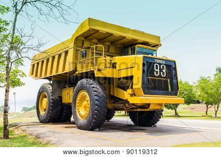 Retired Lignite Coal Truck