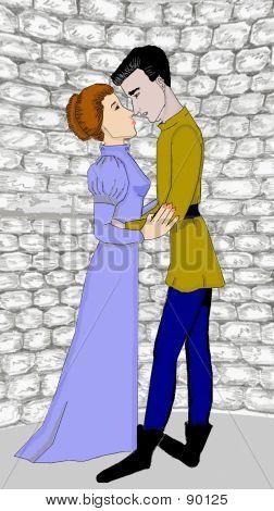 A Royal Love Affair ...