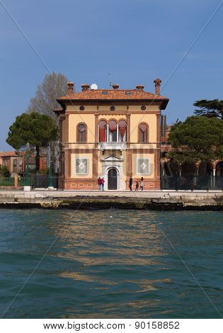 Beautiful Building In The Castello District Of Venice