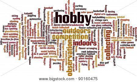 Hobby Word Cloud