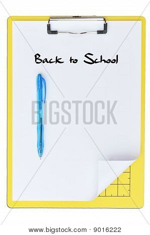 Writing Boards With White Paper