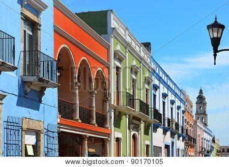 Campeche City In Mexico
