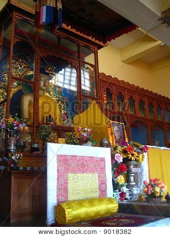 The temple of Tibetan Buddhism