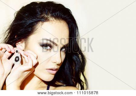Sensual Woman Portrait