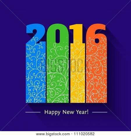 New year text design