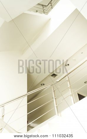 Stairwell In Modern Office
