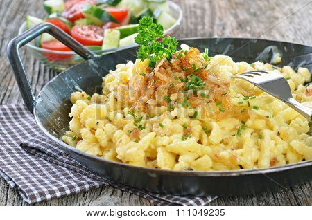 Swabian cheese noodles