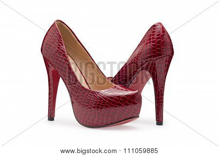 Red High Heels, Symbolic Photo For Fashion And Elegance
