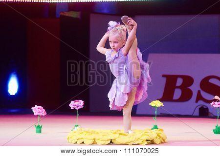 Minsk, Belarus December 05: Surovegina Mariya From ' Smolevichy' Participate With 'fairy
