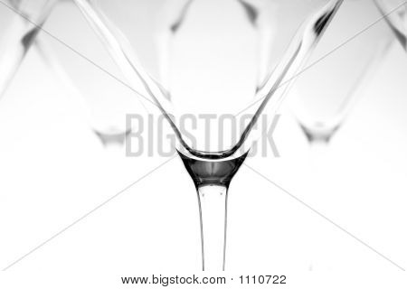 Wine Glass Abstract