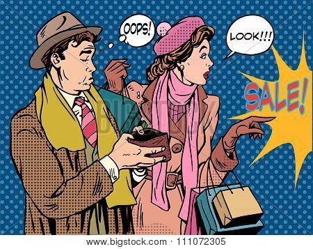 Husband and wife Christmas sales