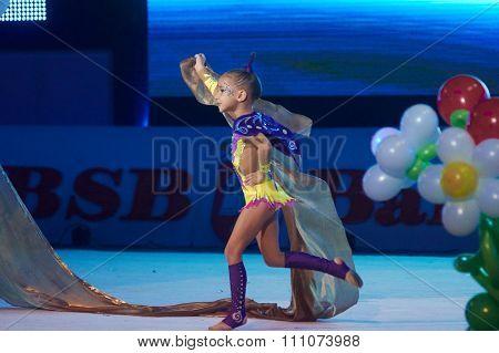 Minsk, Belarus December 05: Lapko Viktoriya From 'trade Union Sports School' Participate Wit