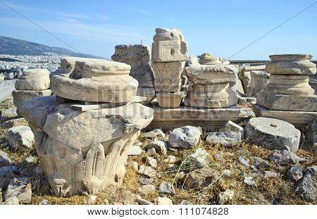 ancient in Acropolis Greece