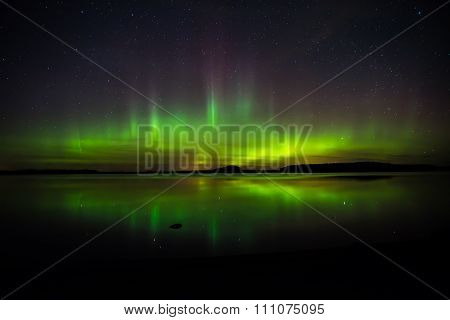 Aurora lights