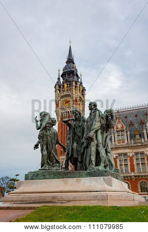 The Burghers Of Calais (les Bourgeois De Calais), France
