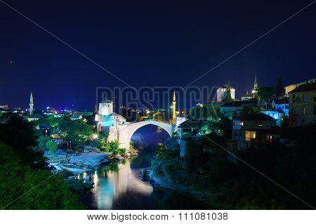 Old City And Old Bridge (stari Most), Mostar