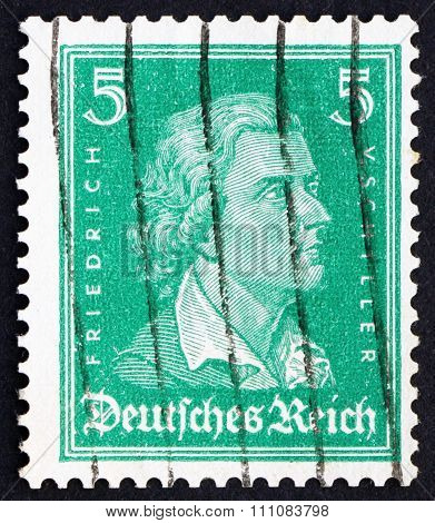 Postage Stamp Germany 1926 Friedrich Von Schiller