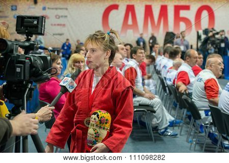Winner In The Weight Category Of 48 Kg Women Bondareva Elena At The World