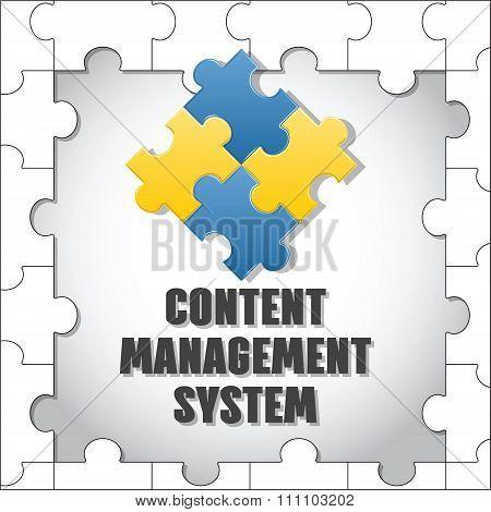 Content Management System. Cms.