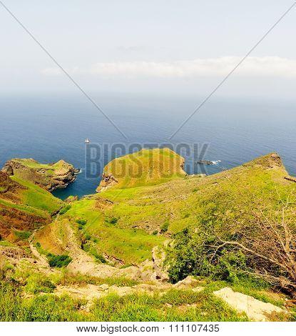 Bay Between Peninsulas