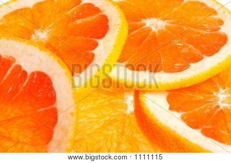 Pink Grapefruit And Orange
