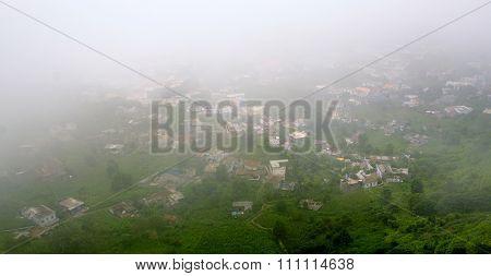 Nova Sintra Engulfed By Clouds