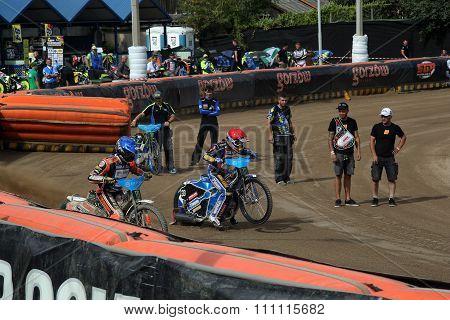 Riders Preparing For Start