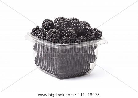 Fresh organic blackberries