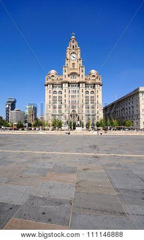 Royal Liver Building, Liverpool.