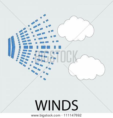 Icon weather winds