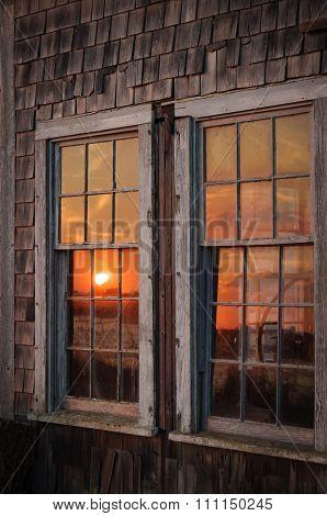 Sunset In Windows