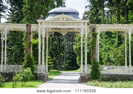 Hermesvilla in Lainzer Tiergarten.