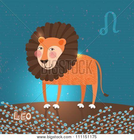 Leo zodiac sign of Horoscope