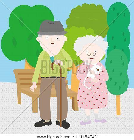 Grandpa & Grandma