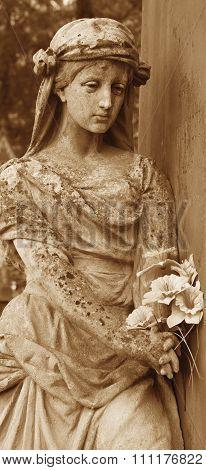 The Goddess Of Love Aphrodite (venus) (vintage Image)