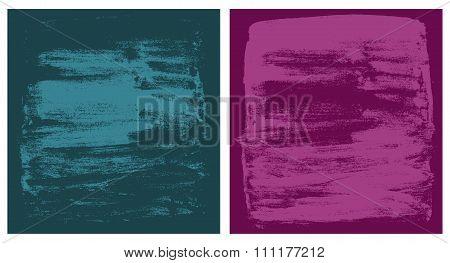 vector dark cyan and pink grunge textures