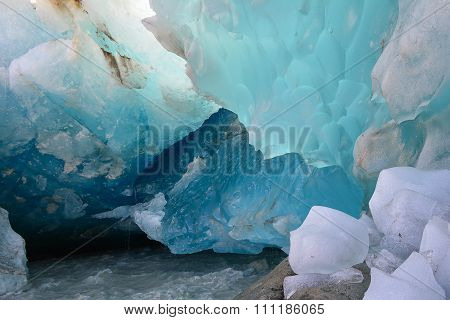 Glacial Ice Patterns