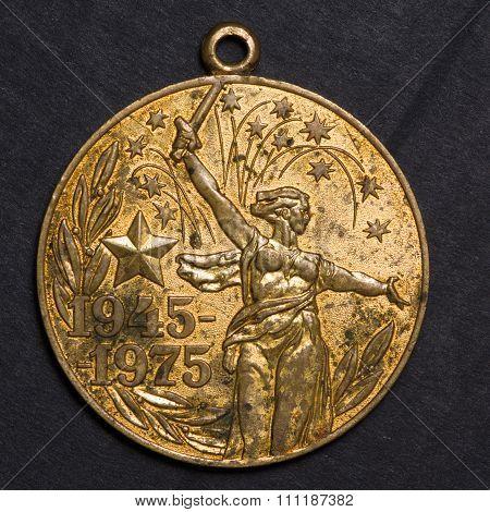Soviet Old Medal