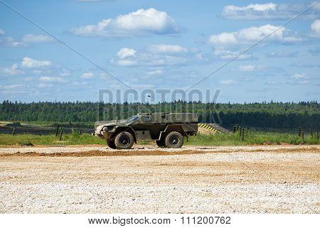 Military armored car KAMAZ-43269