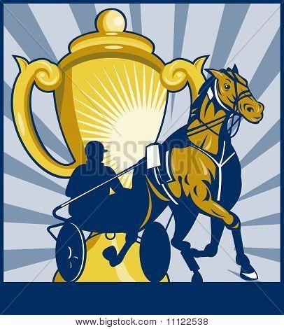Sulkies Harness cart horse racing